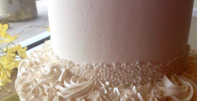 Wedding Cakes close up